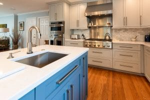 Gabled Ranch Sink for Kitchen